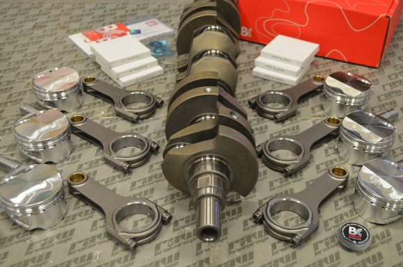 Brian Crower Nissan RB26 Stroker Kit - 79mm Billet LW Crank Sportsman Rods (4.783in) Customs Pistons
