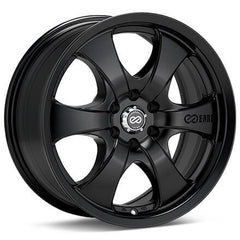 Enkei M6 17x8 35mm Offset 6x139.7 78mm Bore Black Wheel
