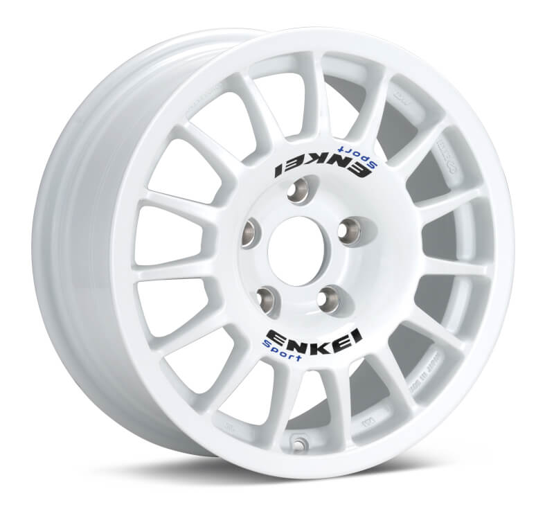 Enkei RCG4 15x7 38mm Offset 5x114.3 75mm Bore White Wheel