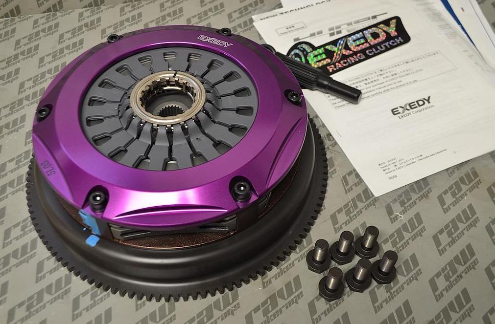 Exedy Hyper Twin Cerametallic Clutch Kit for Nissan RB26 RB25 (PUSH TYPE)
