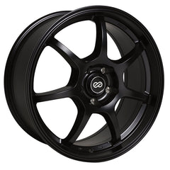 Enkei GT7 16x7 38mm Offset 4x100 72.6mm Bore Matte Black Wheel