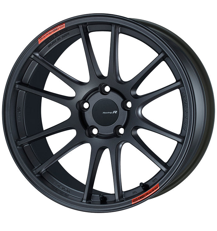 Enkei GTC01RR 18x10.5 15mm Offset 5x114.3 75mm Bore Matte Gunmetallic Wheel