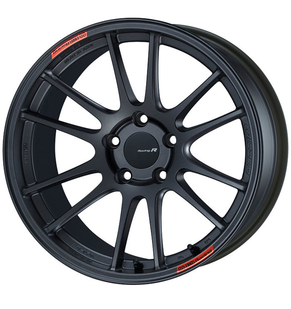Enkei GTC01RR 18x8.5 42mm Offset 5x100 75mm Bore Matte Gunmetallic Wheel