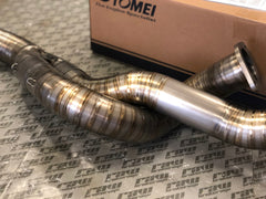 Tomei Expreme TI Titanium Twin Turbo Downpipe for Nissan Skyline GTR R32 R33 R34