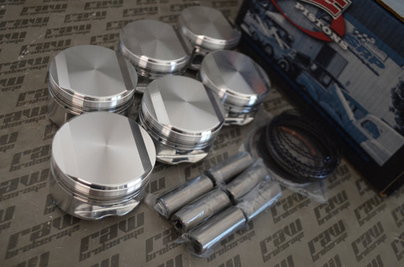 JE Forged Pistons 87.0mm 8.2:1 CR for Nissan RB26DETT