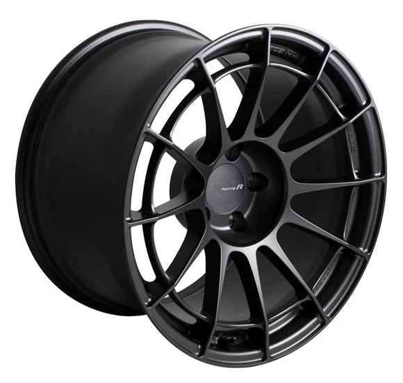 Enkei NT03RR 17x8 48mm Offset 5x114.3 75mm Bore Matte Gunmetal Wheel