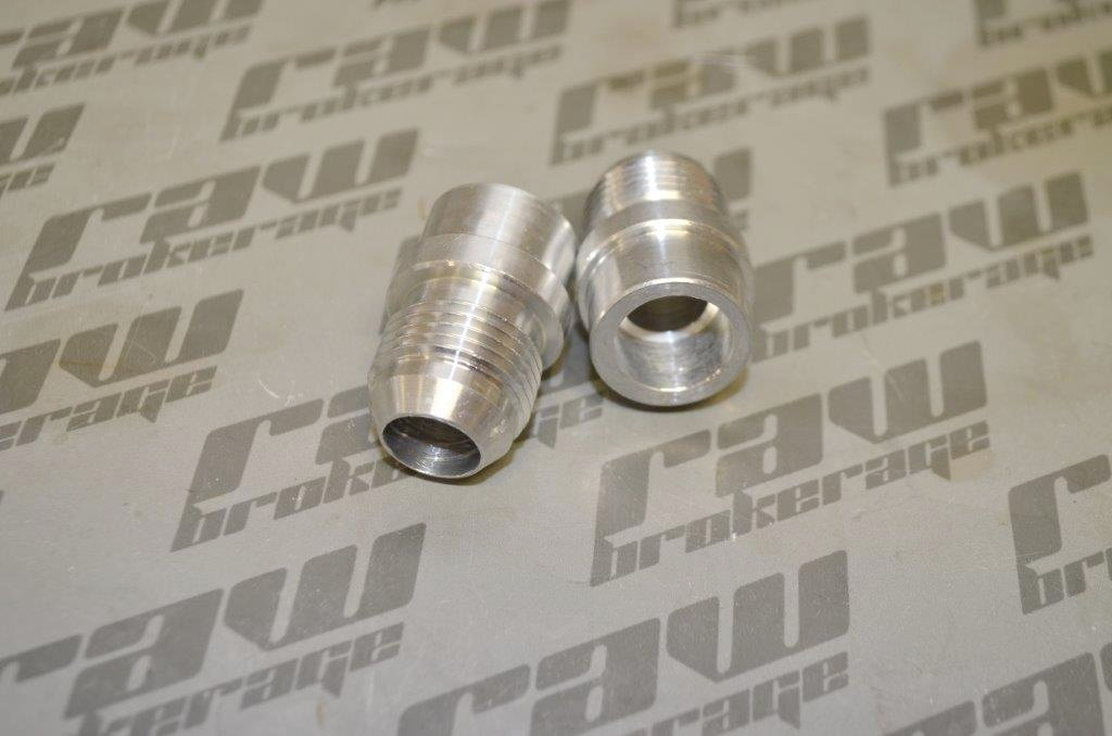 Nubis -10AN Valve Cover Press-In Fittings (Pair) - RB26