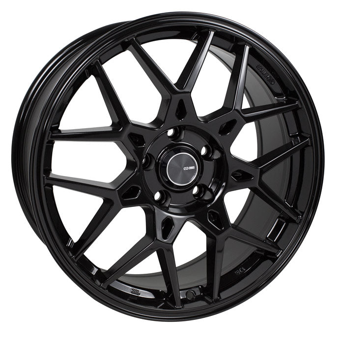 Enkei PDC 18x8 45mm Offset 5x112 72.6mm Bore Black Wheel