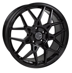 Enkei PDC 17x7.5 42mm Offset 4x100 72.6mm Bore Black Wheel