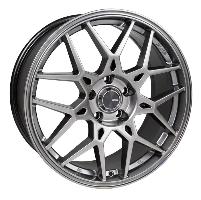 Enkei PDC 17x7.5 45mm Offset 5x100 72.6mm Bore Grey Wheel