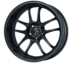 Enkei PF01EVO 17x9.5 22mm Offset 5x114.3 75mm Bore Matte Black Wheel
