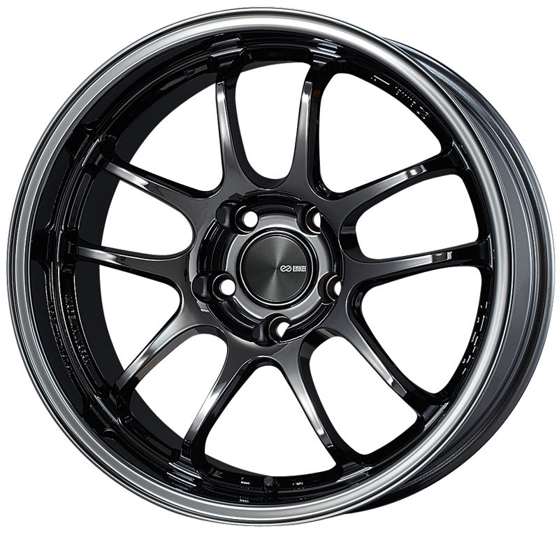 Enkei PF01EVO 17x9 12mm Offset 5x114.3 75mm Bore SBK Wheel