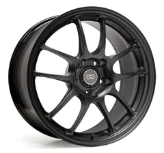 Enkei PF01 17x7 38mm Offset 4x100 75mm Bore Matte Black Wheel