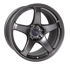 Enkei PF05 18x9 40mm Offset 5x100 75mm Bore Dark Silver Wheel