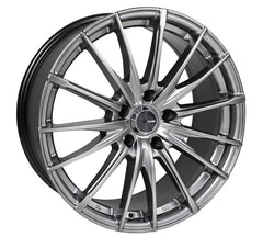 Enkei PFS 18x8 40mm Offset 5x110 72.6mm Bore Grey Wheel