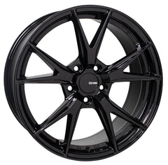 Enkei Phoenix 18x8 45mm Offset 5x114.3 72.6mm Bore Gloss Black Wheel
