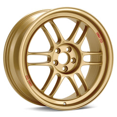 Enkei RPF1 17x9 35mm Offset 5x114.3 73mm Bore Gold Wheel