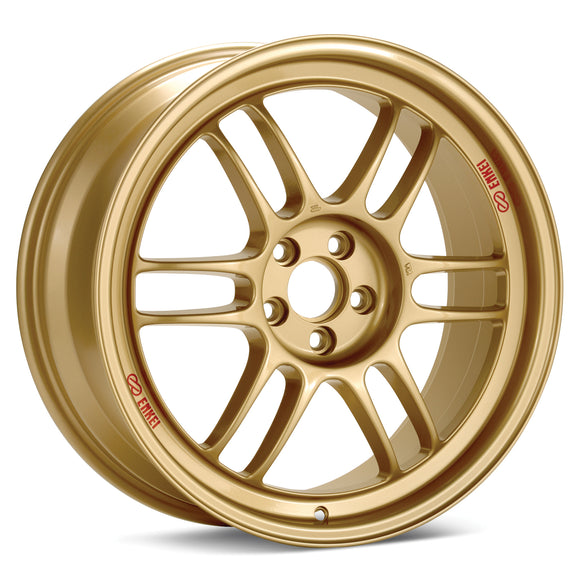 Enkei RPF1 15x8 28mm Offset 4x100 75mm Bore Gold Wheel
