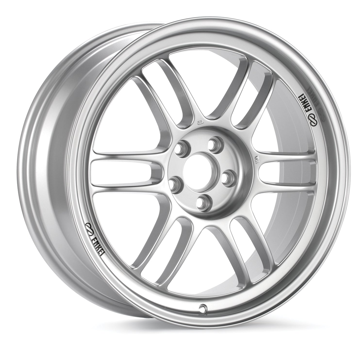 Enkei RPF1 17x7 43mm Offset 4x100 73mm Bore Silver Wheel