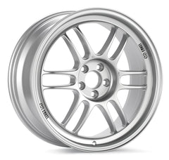 Enkei RPF1 17x10 18mm Offset 5x114.3 73mm Bore Silver Wheel