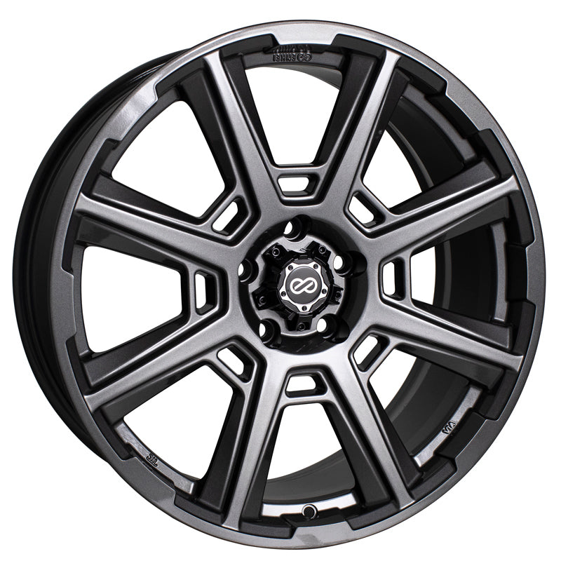 Enkei Storm 17x7.5 45mm Offset 5x100 72.6mm Bore Anthracite Wheel