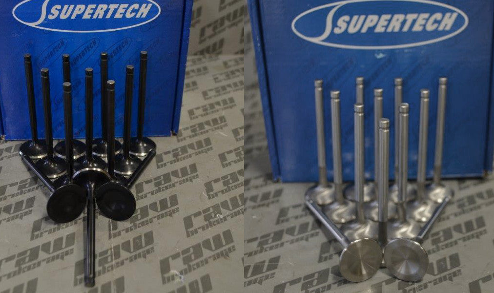 Supertech +1mm Valve Set (Intake and Exhaust) - RB26DETT