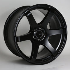 Enkei T6S 18x8 45mm Offset 5x114.3 72.6mm Bore Matte Black Wheel