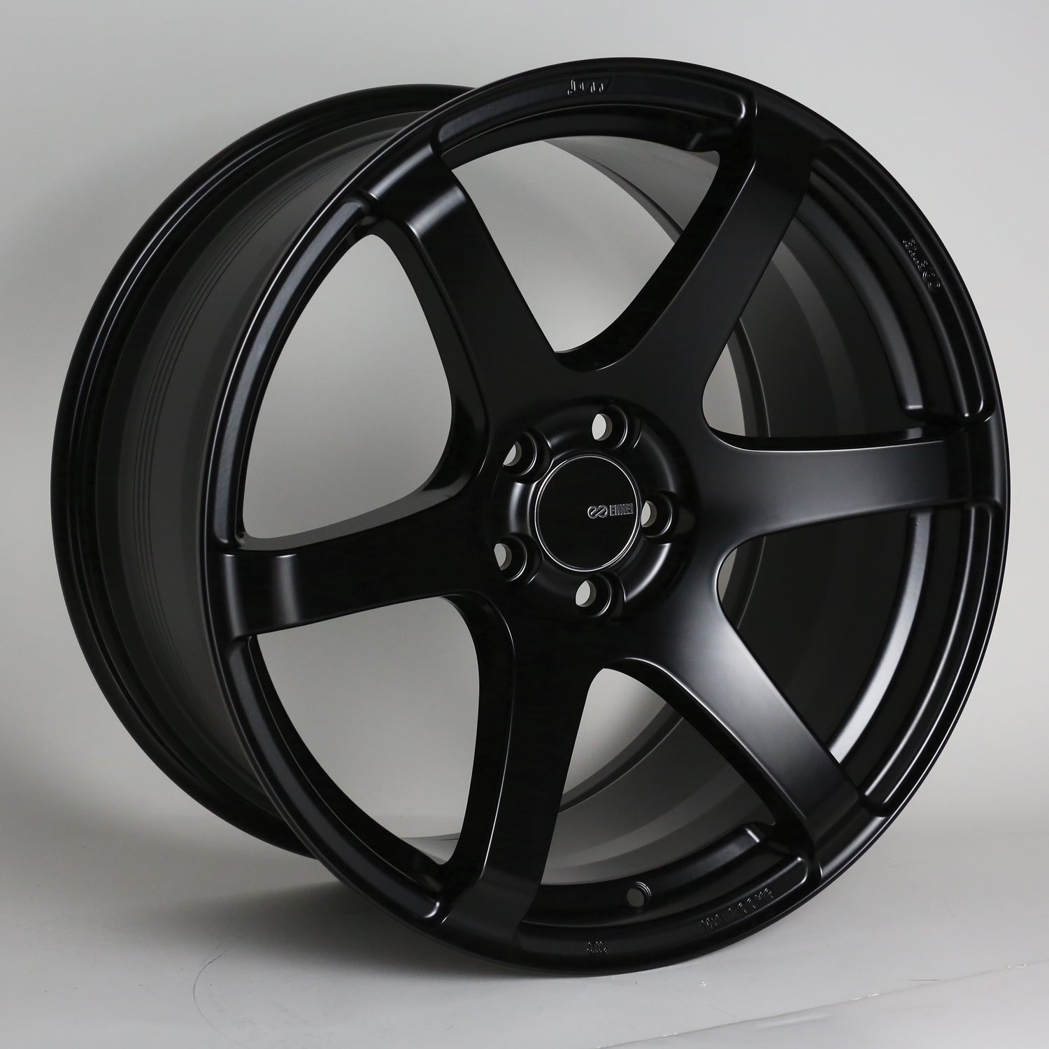 Enkei T6S 17x8 45mm Offset 5x112 72.6mm Bore Matte Black Wheel