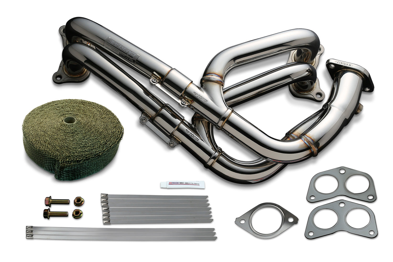 Tomei EXHAUST MANIFOLD KIT EXPREME FA20 ZN6/ZC6 EQUAL LENGTH with TITAN EXHAUST BANDAGE (Previous Part Number 412002)