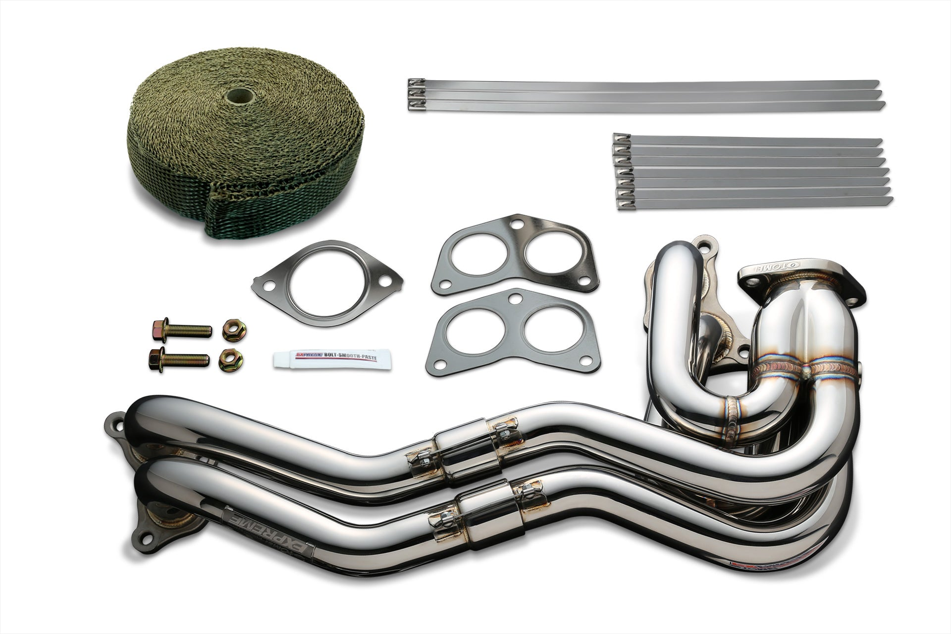 Tomei EXHAUST MANIFOLD KIT EXPREME FA20 ZN6/ZC6 UNEQUAL LENGTH with TITAN EXHAUST BANDAGE (Previous Part Number 412003)