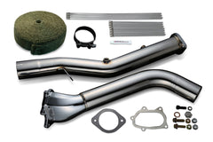 Tomei STRAIGHT DOWN PIPE KIT EXPREME EJ SINGLE SCROLL GD Ver.2 with TITAN EXHAUST BANDAGE (Previous Part Number 431105)
