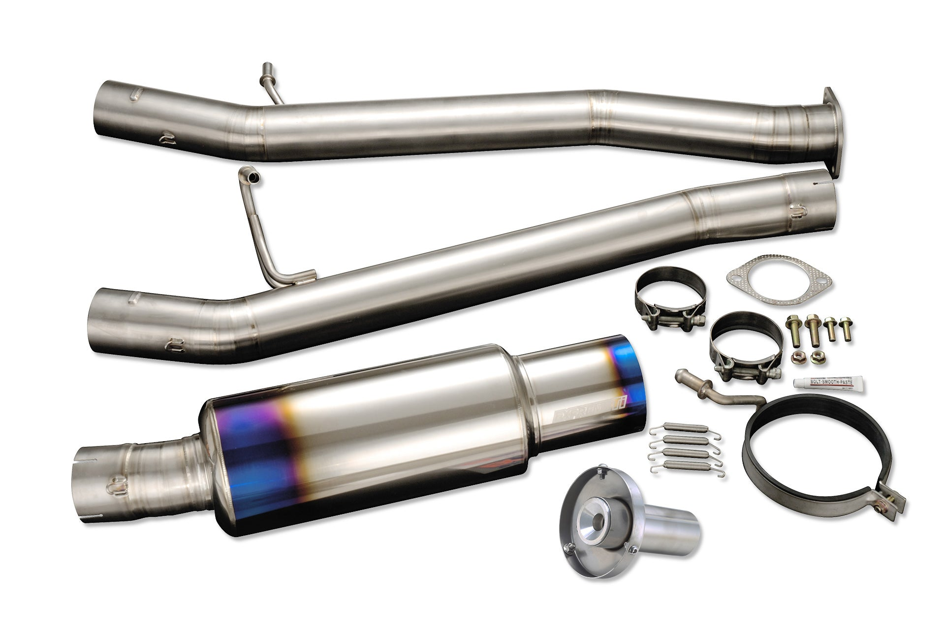 Tomei FULL TITANIUM MUFFLER KIT EXPREME Ti GDB A-D JDM (Previous Part Number 440005)