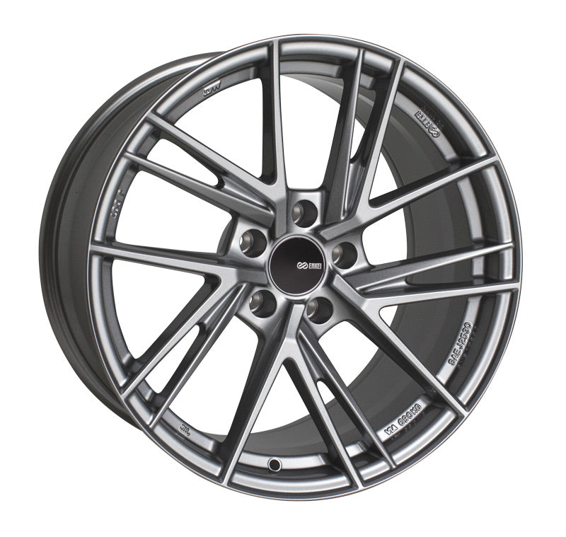 Enkei TD5 18x8.5 45mm Offset 5x114.3 72.6mm Bore Storm Gray Wheel