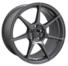 Enkei TFR 18x8.5 38mm Offset 5x114.3 72.6mm Bore Matte Gunmetal Wheel
