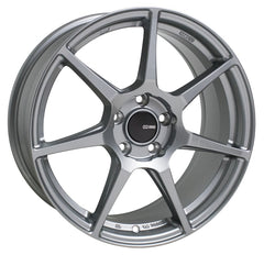 Enkei TFR 18x9.5 38mm Offset 5x114.3 72.6mm Bore Storm Gray Wheel