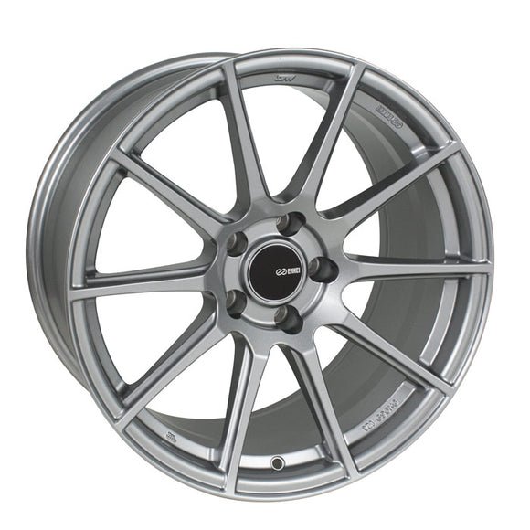 Enkei TS-10 17x8 40mm Offset 4x100 72.6mm Bore Storm Gray Wheel