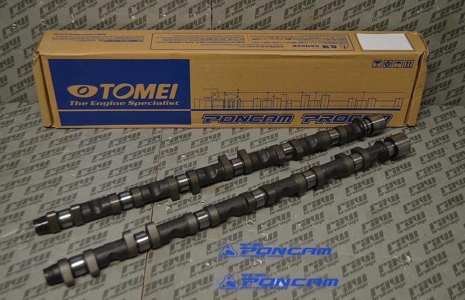 Tomei Poncam Camshaft Set 254 deg dur 9.15 mm for R34 Nissan RB26DETT