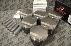 Wiseco Nissan RB26 Forged Piston Kit (86.5mm bore, 8.2:1 CR)