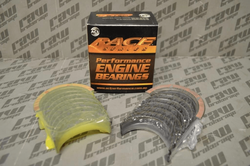 ACL 7M2428H-STD Race Series Main Bearing Set (Standard) - RB26