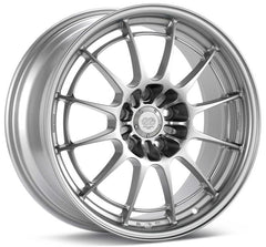 Enkei NT03+M 17x8 35mm Offset 5x114.3 72.6mm Bore Silver Wheel