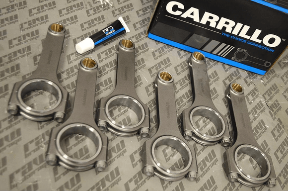 Carrillo Pro H-Beam Connecting Rods w/ CARR Bolts - RB25 RB26