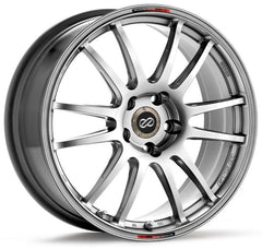 Enkei GTC01 17x7 35mm Offset 4x108 75mm Bore Hyper Black Wheel