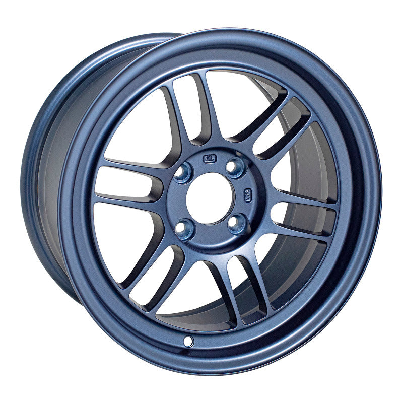 Enkei RPF1 18x9.5 38mm Offset 5x114.3 73mm Bore Matte Blue Wheel