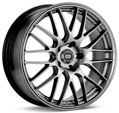 Enkei EKM3 17x7 38mm Offset 5x114.3 72.6mm Bore Hyper Silver Wheel