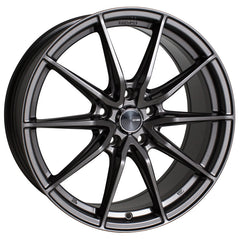Enkei DRACO 17x7.5 38mm Offset 5x114.3 72.6mm Bore Anthracite Wheel