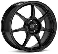 Enkei Fujin 17x7.5 50mm Offset 5x100 72.6mm Bore Matte Black Wheel