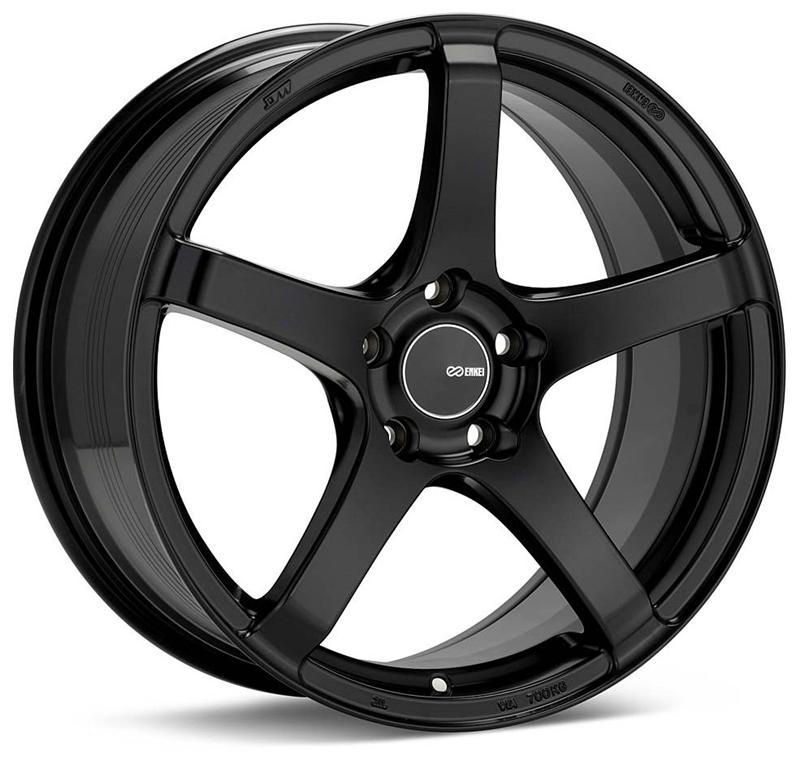 Enkei Kojin 18x8 40mm Offset 5x114.3 72.6mm Bore Matte Black Wheel