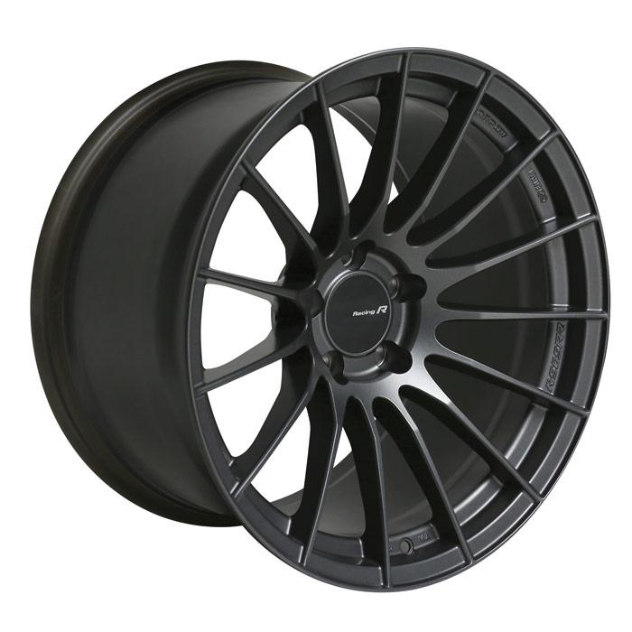 Enkei RS05RR 18x9 40mm Offset 5x100 75mm Bore Matte Gunmetal Wheel