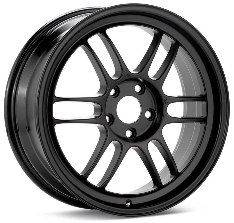 Enkei RPF1 14x7 19mm Offset 4x100 54mm Bore Matte Black Wheel