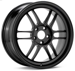 Enkei RPF1 17x8 35mm Offset 5x100 73mm Bore Black Wheel